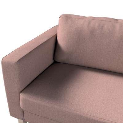 Pokrowiec na sofę Karlstad 3-osobową nierozkładaną, krótki w kolekcji City, tkanina: 704-83