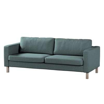 Pokrowiec na sofę Karlstad 3-osobową nierozkładaną, krótki w kolekcji City, tkanina: 704-85