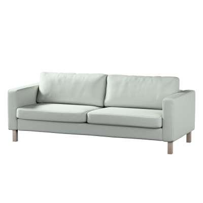 Pokrowiec na sofę Karlstad 3-osobową nierozkładaną, krótki w kolekcji Living, tkanina: 161-41