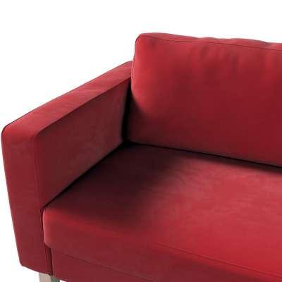 Pokrowiec na sofę Karlstad 3-osobową nierozkładaną, krótki w kolekcji Christmas, tkanina: 704-15