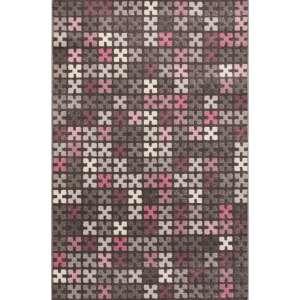 Dywan Modern Puzzle Charisma Rose/Frost Grey 135x190cm 135x190cm