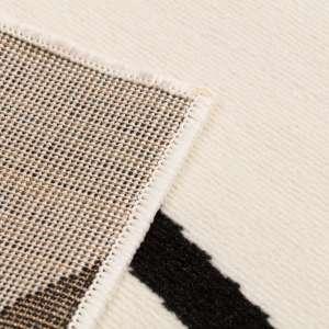 Dywan Modern Lines Cream/black 135x190cm 135x190cm