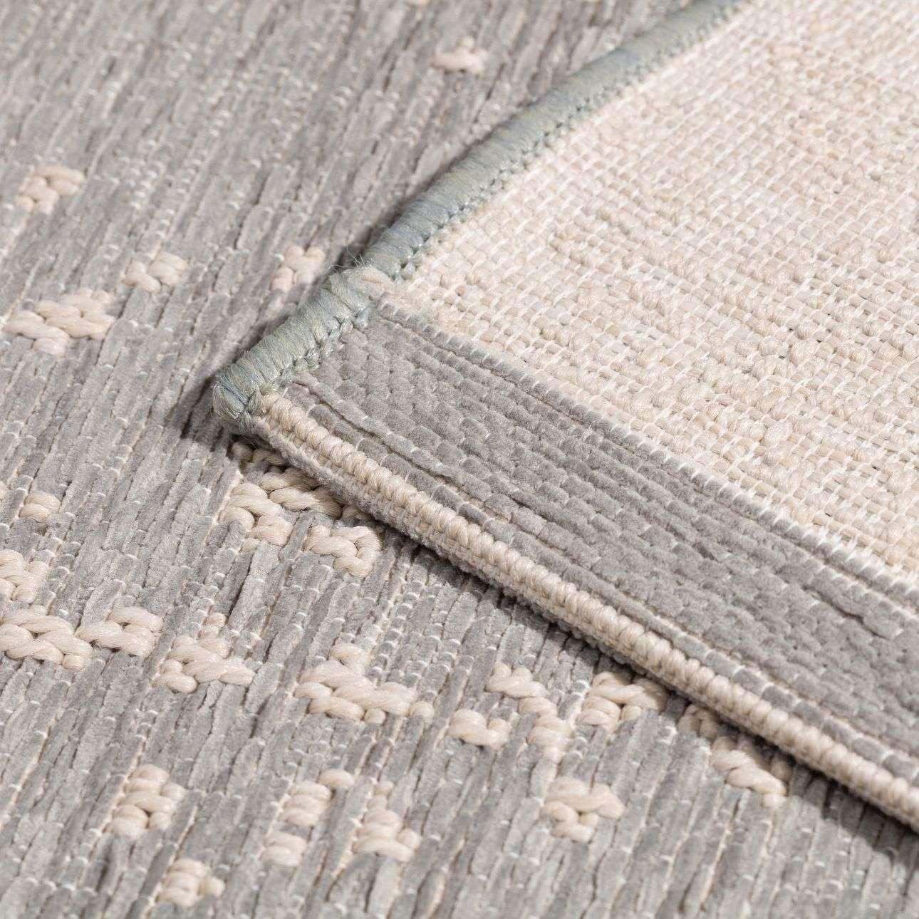 Teppich Breeze Serenity blue/wool 155x230cm
