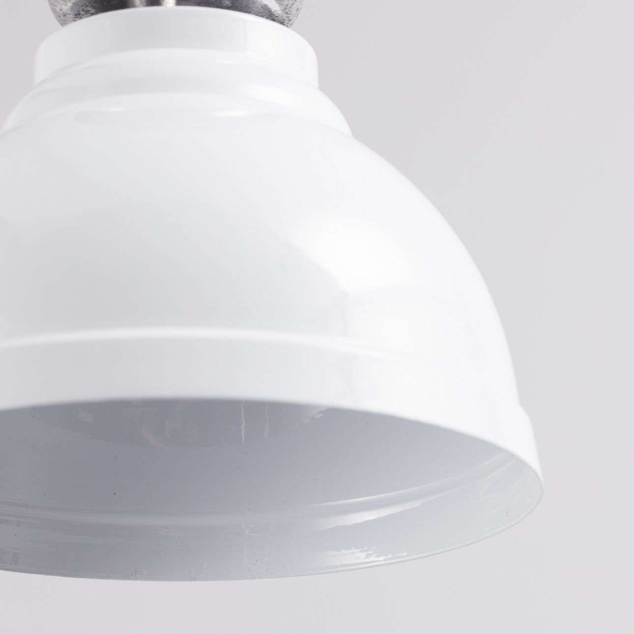 Lampa wisząca Clinton śr. 22cm white 22x22x122cm