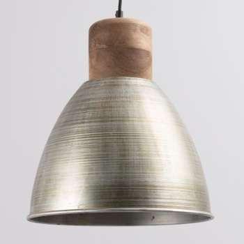 Lampa wisząca Ismay śr. 33cm silver&olive