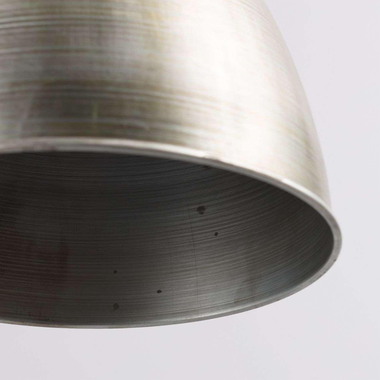Lampa wisząca Ismay śr. 33cm silver&olive 33x33x164cm