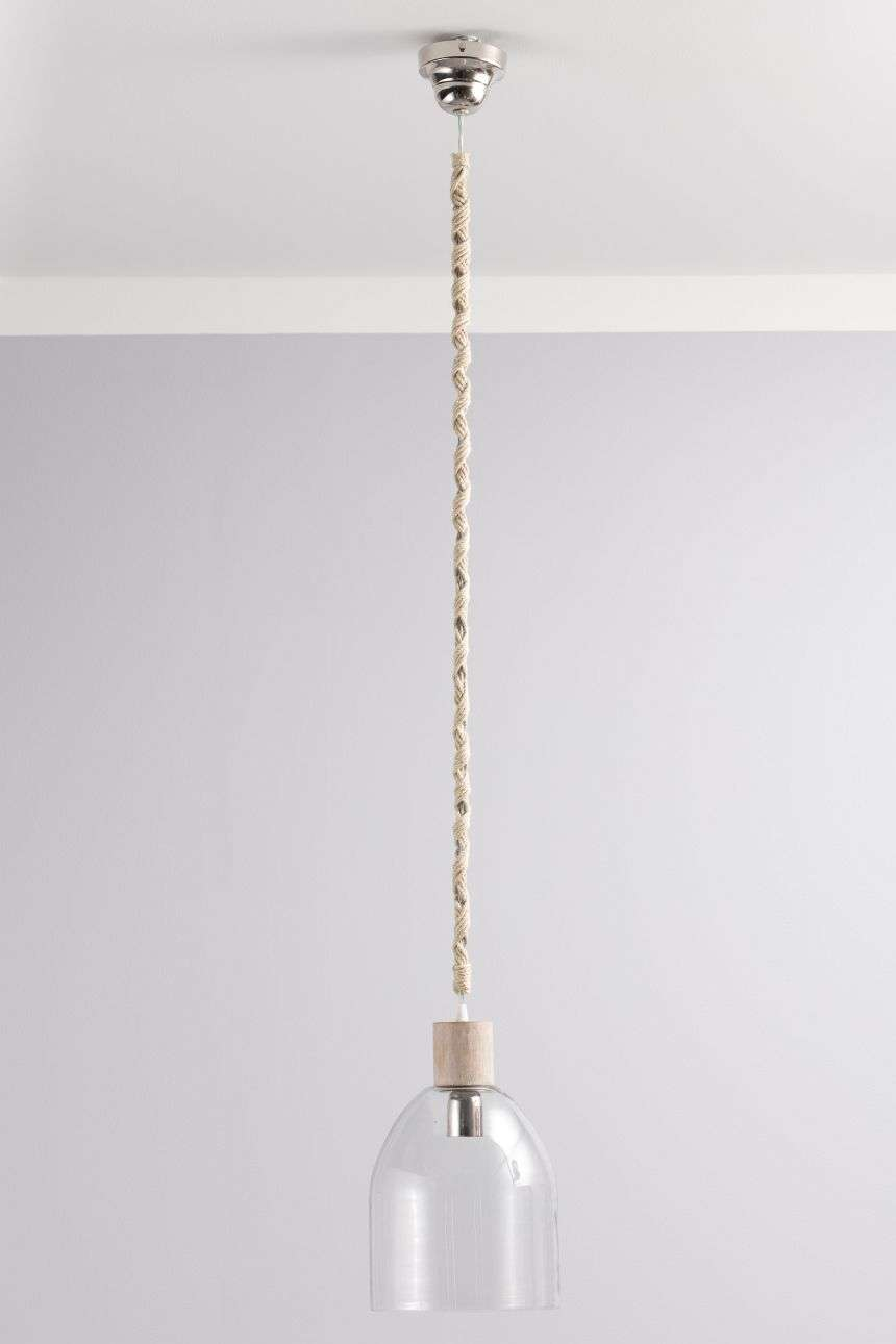 Lampa wisząca Zaya śr. 23cm 23x23x40cm