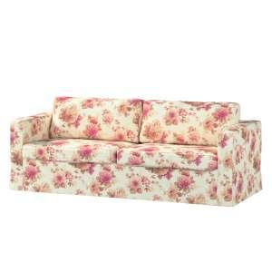 Pokrowiec na sofę Karlstad 3-osobową nierozkładaną, długi Sofa Karlstad 3-osobowa w kolekcji Mirella, tkanina: 141-06