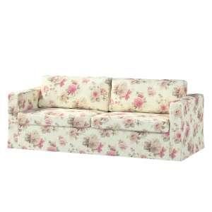 Pokrowiec na sofę Karlstad 3-osobową nierozkładaną, długi Sofa Karlstad 3-osobowa w kolekcji Mirella, tkanina: 141-07