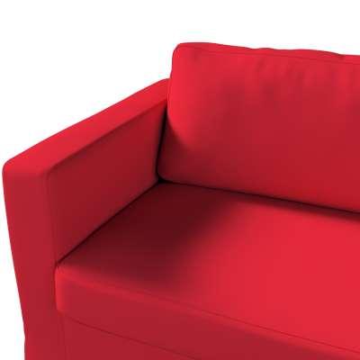 Pokrowiec na sofę Karlstad 3-osobową nierozkładaną, długi w kolekcji Cotton Panama, tkanina: 702-04