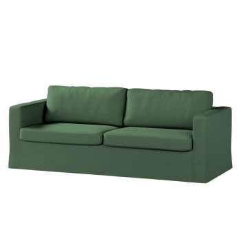 Poťah na sedačku Karlstad (nerozkladá sa, pre 3 osoby, dlhá) V kolekcii Cotton Panama, tkanina: 702-06
