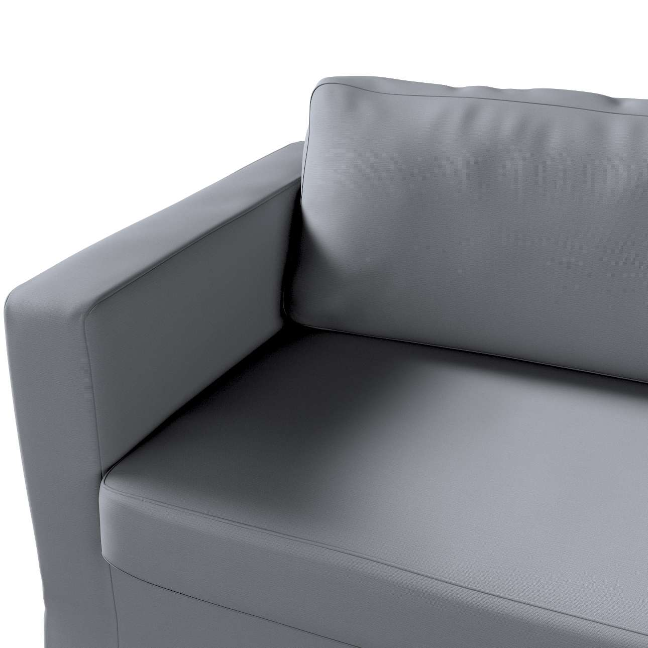 Karlstad päällinen kolmen istuttava, pitkä mallistosta Cotton Panama, Kangas: 702-07