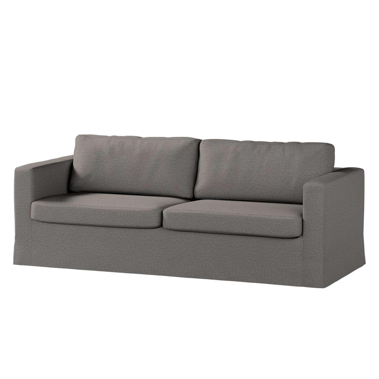 Pokrowiec na sofę Karlstad 3-osobową nierozkładaną, długi Sofa Karlstad 3-osobowa w kolekcji Edinburgh, tkanina: 115-77