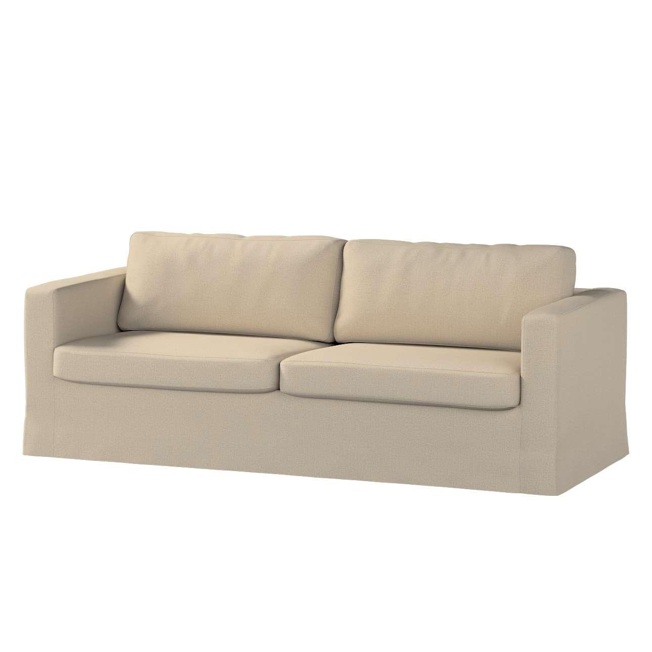 Pokrowiec na sofę Karlstad 3-osobową nierozkładaną, długi Sofa Karlstad 3-osobowa w kolekcji Edinburgh, tkanina: 115-78