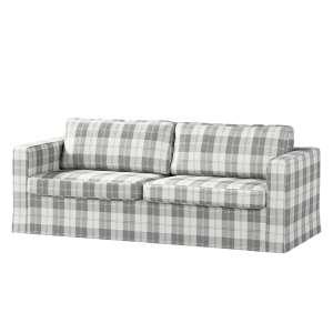 Pokrowiec na sofę Karlstad 3-osobową nierozkładaną, długi Sofa Karlstad 3-osobowa w kolekcji Edinburgh, tkanina: 115-79