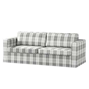 Karlstad 3-Sitzer Sofabezug nicht ausklappbar lang Sofahusse, Karlstad 3-Sitzer von der Kollektion Edinburgh , Stoff: 115-79