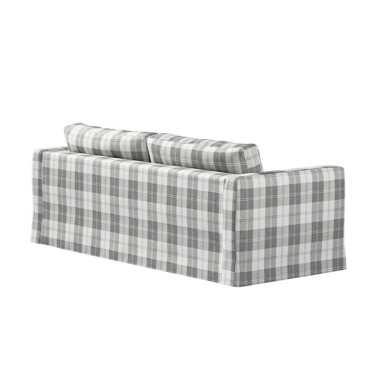 Potah na pohovku IKEA  Karlstad 3-místná, nerozkládací, dlouhý v kolekci Edinburgh, látka: 115-79