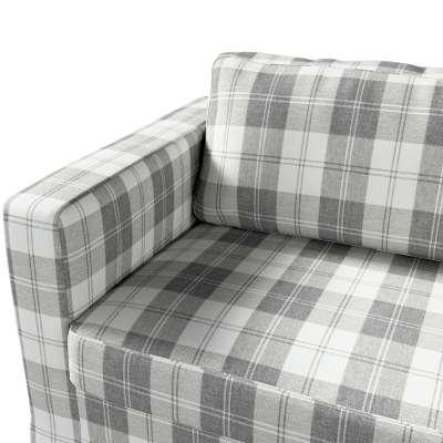 Pokrowiec na sofę Karlstad 3-osobową nierozkładaną, długi w kolekcji Edinburgh, tkanina: 115-79