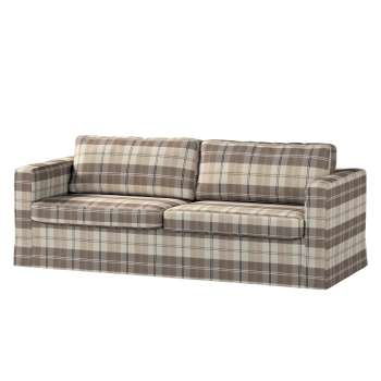 Floor length Karlstad 3-seater sofa cover