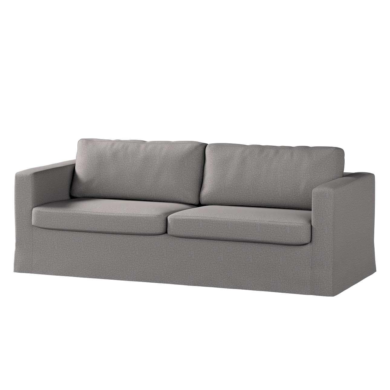 Karlstad 3-Sitzer Sofabezug nicht ausklappbar lang Sofahusse, Karlstad 3-Sitzer von der Kollektion Edinburgh , Stoff: 115-81