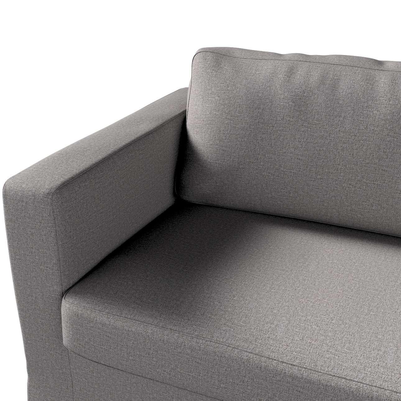 Pokrowiec na sofę Karlstad 3-osobową nierozkładaną, długi w kolekcji Edinburgh, tkanina: 115-81