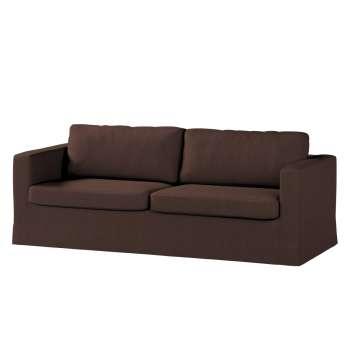 Karlstad 3-Sitzer Sofabezug nicht ausklappbar lang von der Kollektion Chenille , Stoff: 702-18