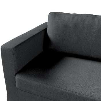 Pokrowiec na sofę Karlstad 3-osobową nierozkładaną, długi w kolekcji Chenille, tkanina: 702-20