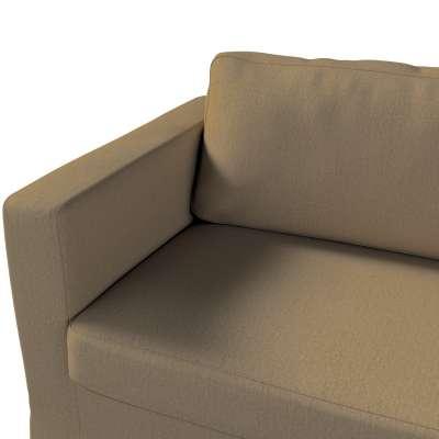 Pokrowiec na sofę Karlstad 3-osobową nierozkładaną, długi w kolekcji Chenille, tkanina: 702-21