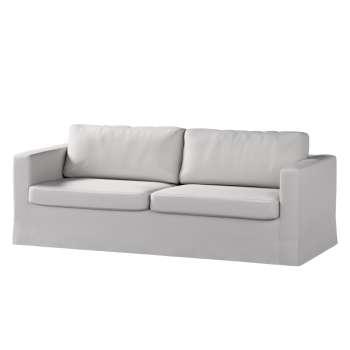 Karlstad 3-Sitzer Sofabezug nicht ausklappbar lang Sofahusse, Karlstad 3-Sitzer von der Kollektion Chenille , Stoff: 702-23