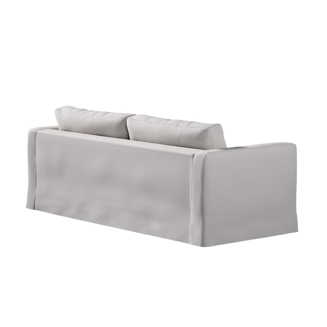 Potah na pohovku IKEA  Karlstad 3-místná, nerozkládací, dlouhý v kolekci Chenille, látka: 702-23