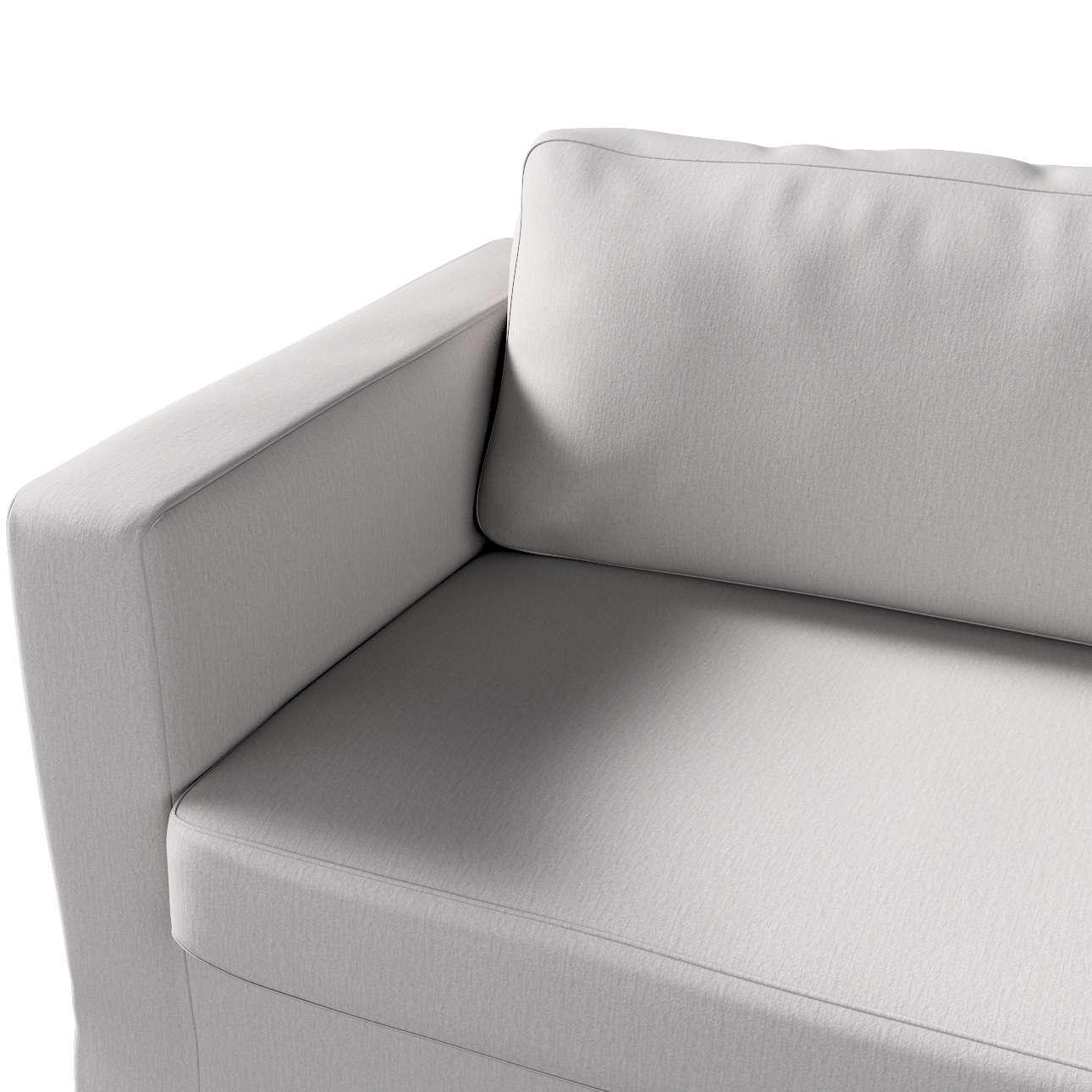 Pokrowiec na sofę Karlstad 3-osobową nierozkładaną, długi w kolekcji Chenille, tkanina: 702-23