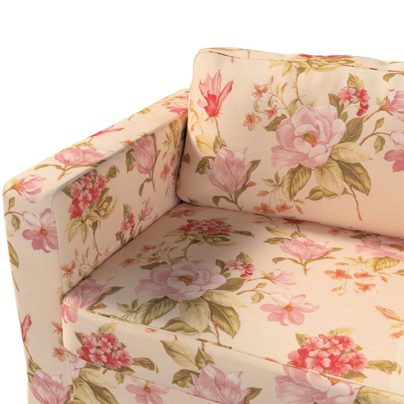 Pokrowiec na sofę Karlstad 3-osobową nierozkładaną, długi w kolekcji Londres, tkanina: 123-05