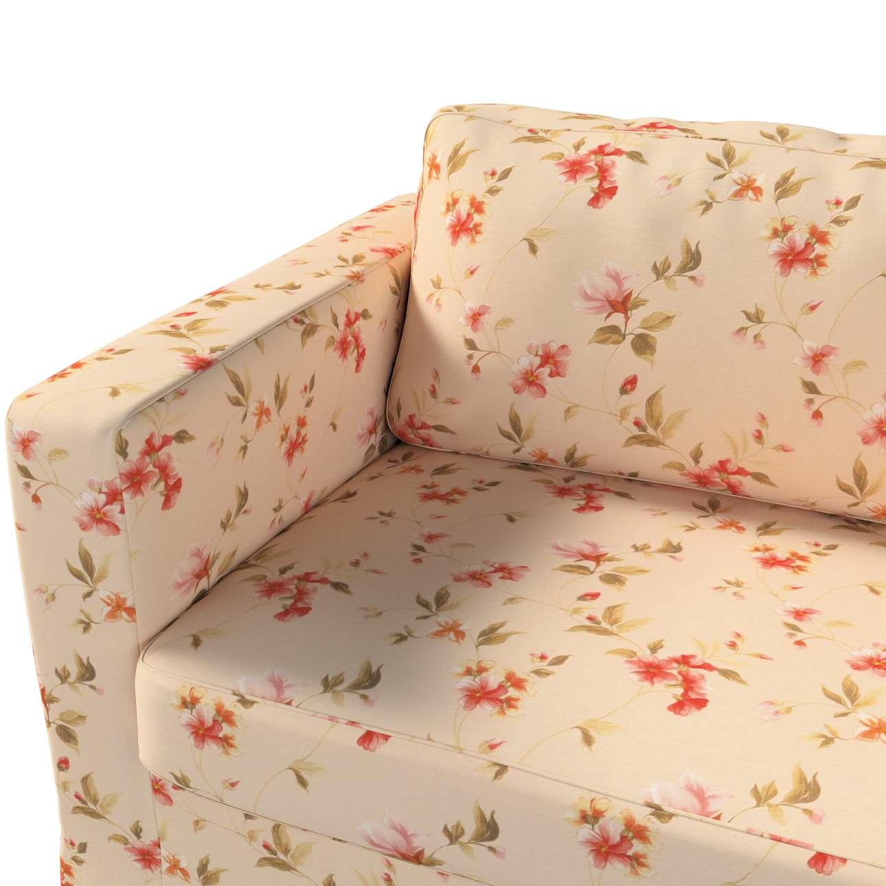 Pokrowiec na sofę Karlstad 3-osobową nierozkładaną, długi w kolekcji Londres, tkanina: 124-05