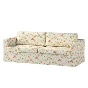 Pokrowiec na sofę Karlstad 3-osobową nierozkładaną, długi Sofa Karlstad 3-osobowa w kolekcji Londres, tkanina: 124-65