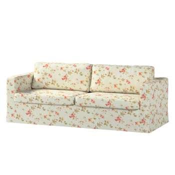 Karlstad 3-Sitzer Sofabezug nicht ausklappbar lang Sofahusse, Karlstad 3-Sitzer von der Kollektion Londres, Stoff: 124-65