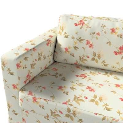 Pokrowiec na sofę Karlstad 3-osobową nierozkładaną, długi w kolekcji Londres, tkanina: 124-65
