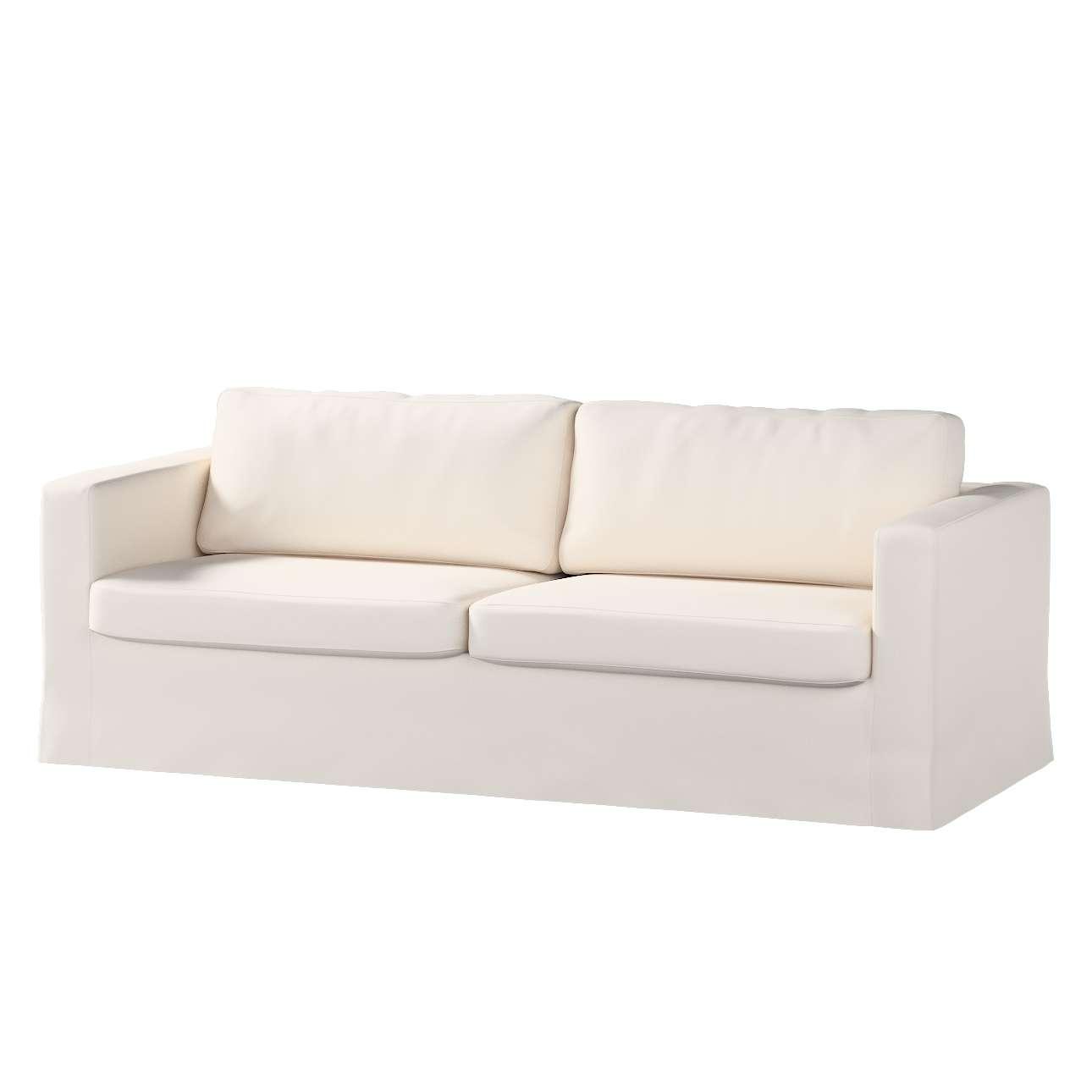 Karlstad 3-Sitzer Sofabezug nicht ausklappbar lang Sofahusse, Karlstad 3-Sitzer von der Kollektion Etna, Stoff: 705-01