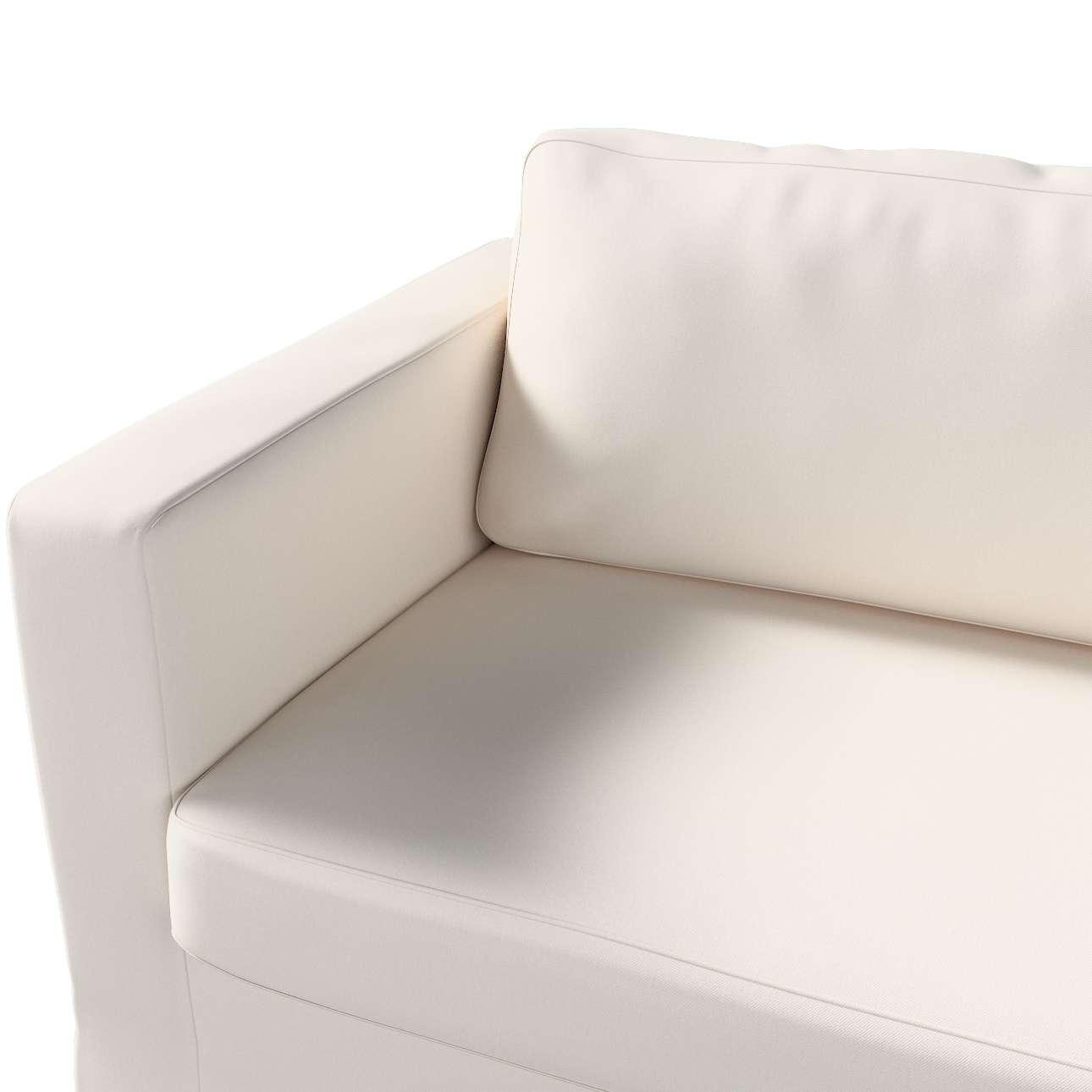 Pokrowiec na sofę Karlstad 3-osobową nierozkładaną, długi w kolekcji Etna, tkanina: 705-01