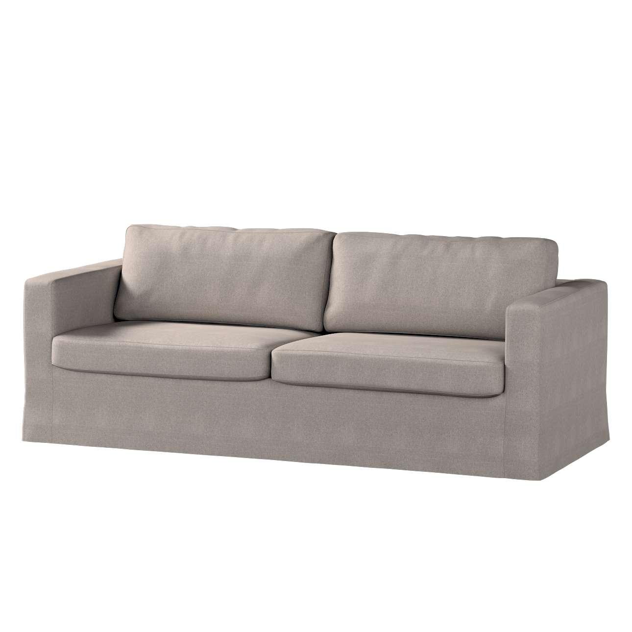 Pokrowiec na sofę Karlstad 3-osobową nierozkładaną, długi Sofa Karlstad 3-osobowa w kolekcji Etna , tkanina: 705-09