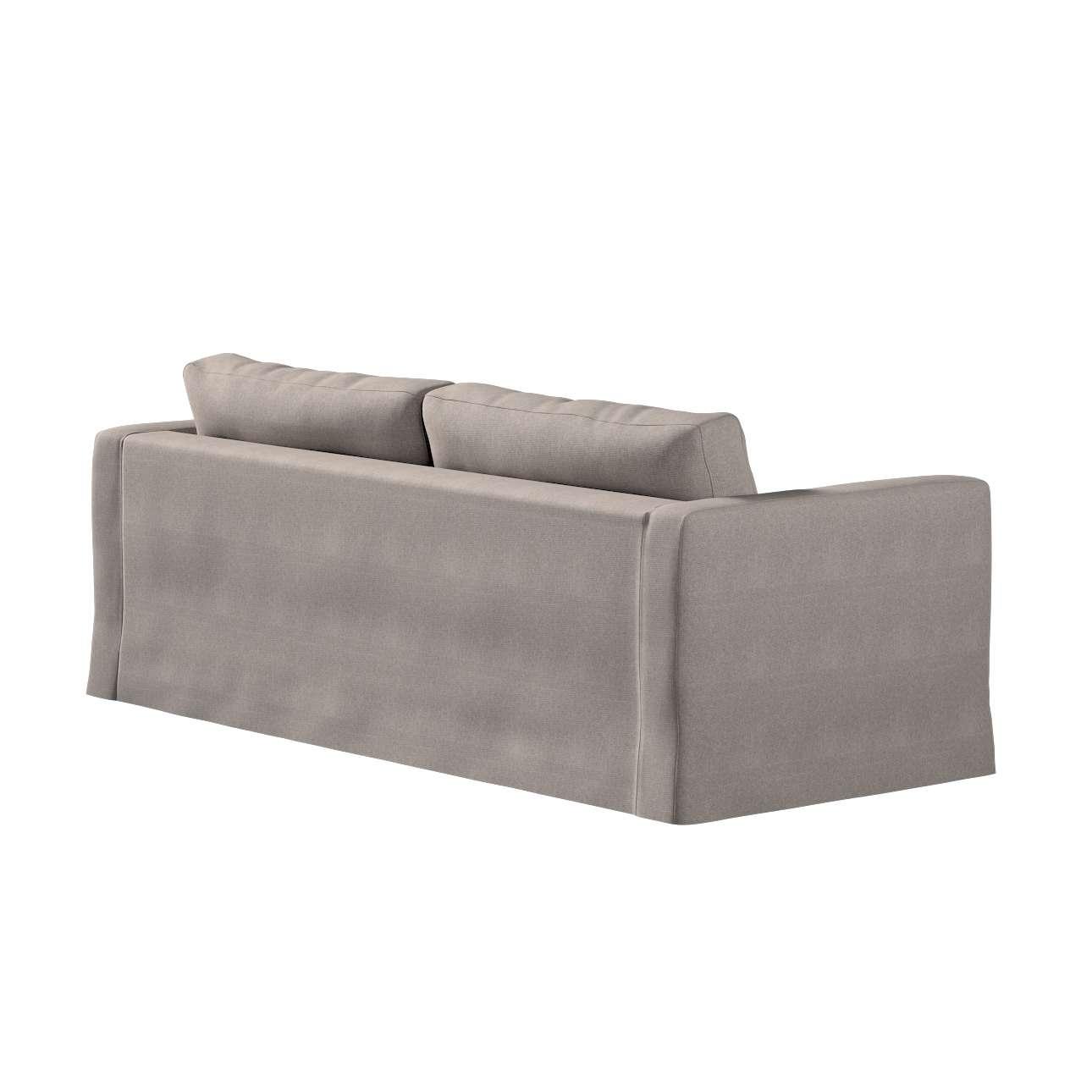 Pokrowiec na sofę Karlstad 3-osobową nierozkładaną, długi w kolekcji Etna, tkanina: 705-09