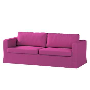 Pokrowiec na sofę Karlstad 3-osobową nierozkładaną, długi w kolekcji Etna , tkanina: 705-23