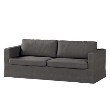 Karlstad 3-Sitzer Sofabezug nicht ausklappbar lang von der Kollektion Etna, Stoff: 705-35
