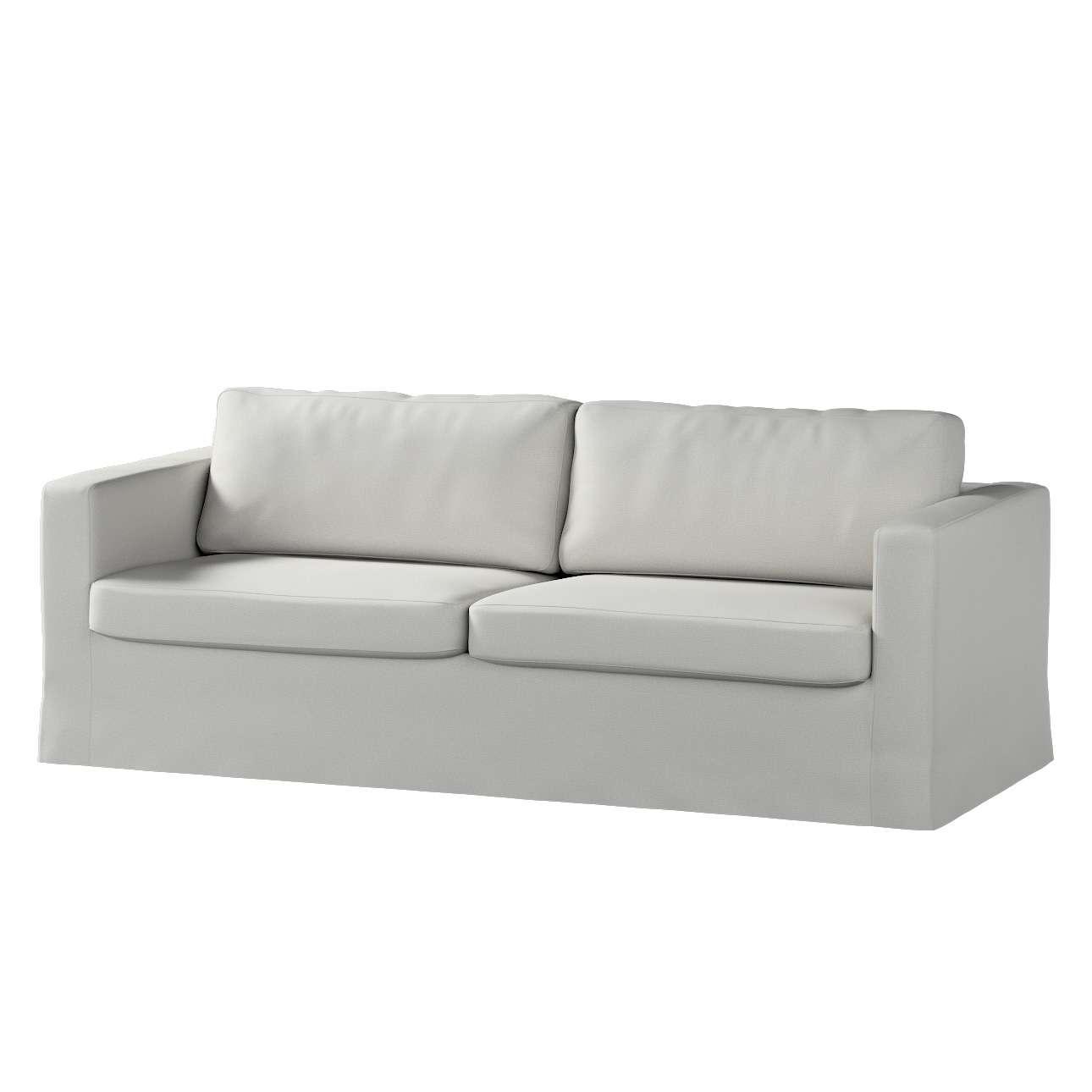 Karlstad 3-Sitzer Sofabezug nicht ausklappbar lang Sofahusse, Karlstad 3-Sitzer von der Kollektion Etna, Stoff: 705-90