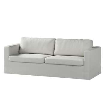 Floor length Karlstad 3-seater sofa cover in collection Etna, fabric: 705-90