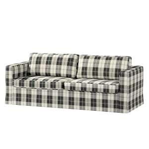 Karlstad 3-Sitzer Sofabezug nicht ausklappbar lang Sofahusse, Karlstad 3-Sitzer von der Kollektion Edinburgh , Stoff: 115-74