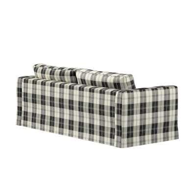 Potah na pohovku IKEA  Karlstad 3-místná, nerozkládací, dlouhý v kolekci Edinburgh, látka: 115-74