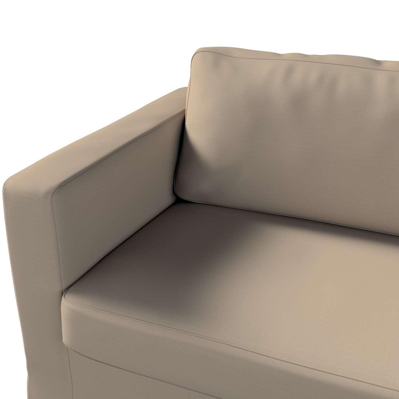 Potah na pohovku IKEA  Karlstad 3-místná, nerozkládací, dlouhý v kolekci Cotton Panama, látka: 702-28