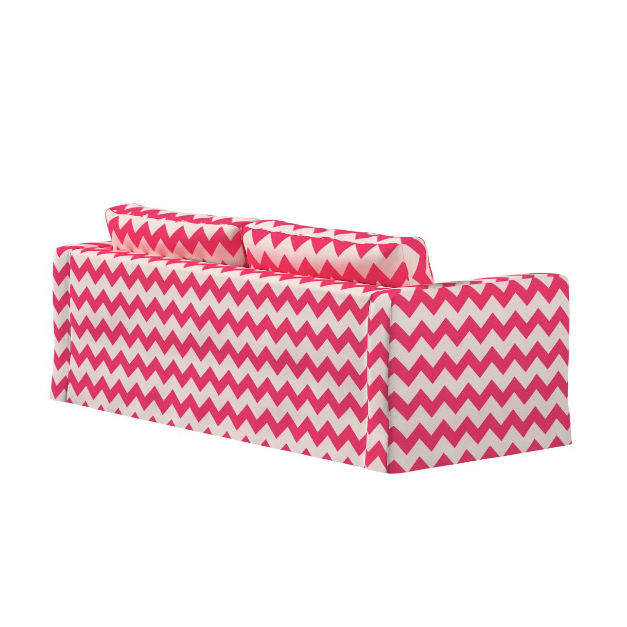 Floor length Karlstad 3-seater sofa cover in collection Comics/Geometrical, fabric: 135-00