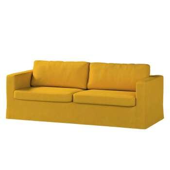 Pokrowiec na sofę Karlstad 3-osobową nierozkładaną, długi w kolekcji Etna , tkanina: 705-04
