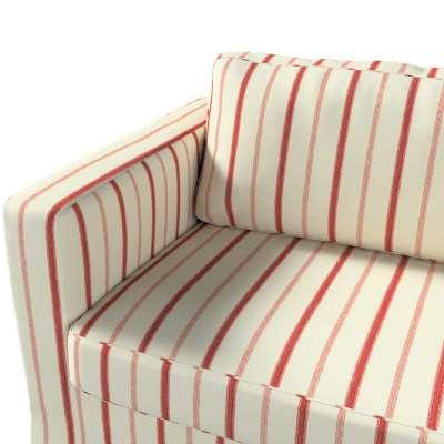 Pokrowiec na sofę Karlstad 3-osobową nierozkładaną, długi w kolekcji Avinon, tkanina: 129-15